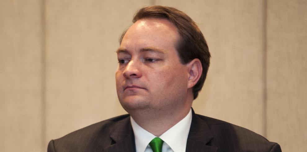 El director de la Oficina de Asuntos Internacionales de Narcotráfico y Aplicación de la Ley (por sus siglas en inglés), Patrick Ventrell,
