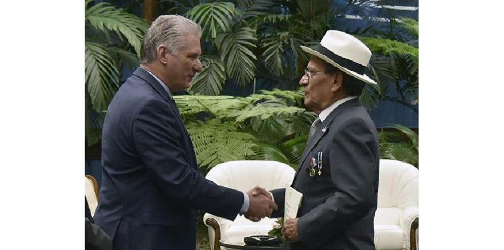 Entrega de Cartas Credenciales en Cuba