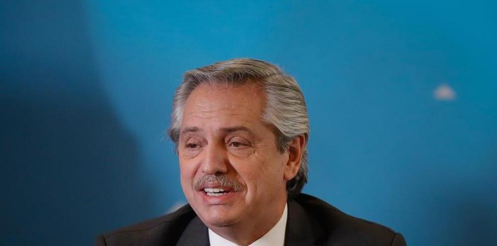 Alberto Fernandez, presidente electo de Argentina.