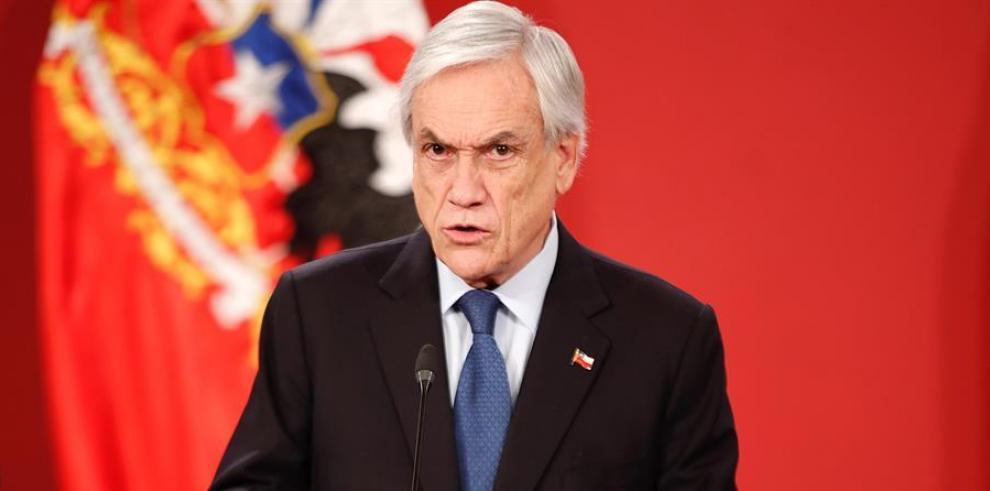 El presidente de Chile, Sebastian Piñera