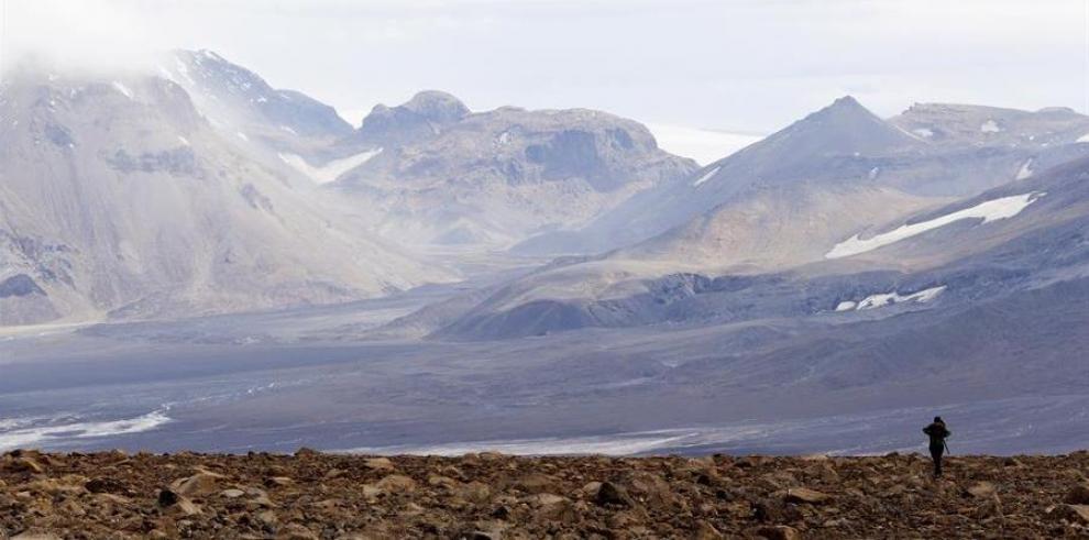 Comprueban en el suelo de Islandia el efecto del calentamiento global