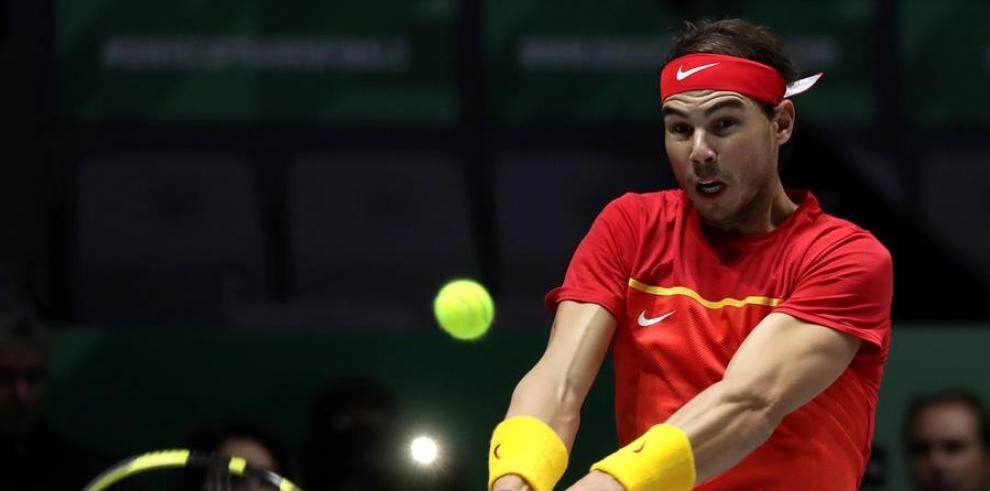 El tenista español Rafael Nadal.
