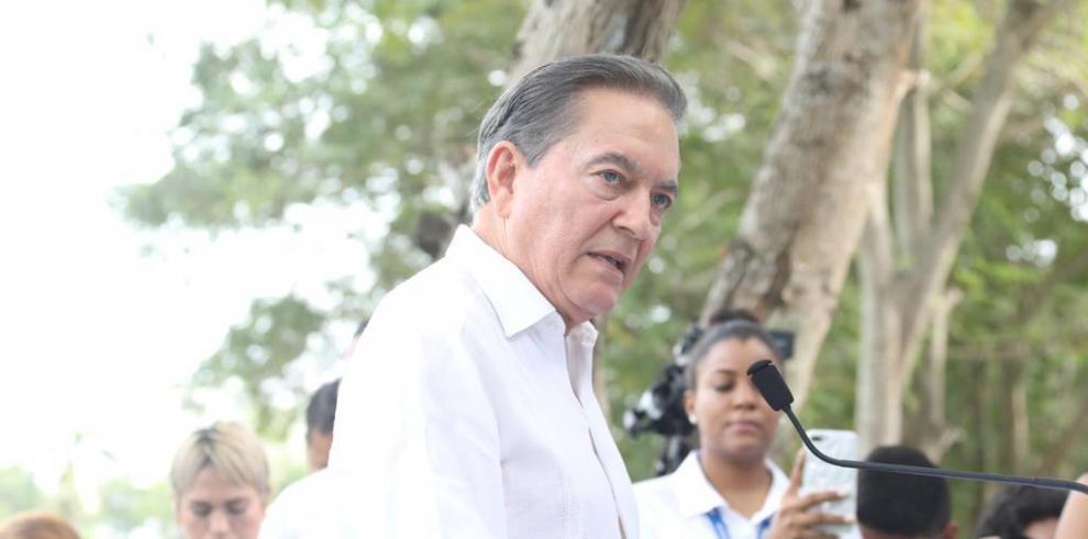 Laurentino Cortizo, presidente de Panamá 20 de diciembre 2019