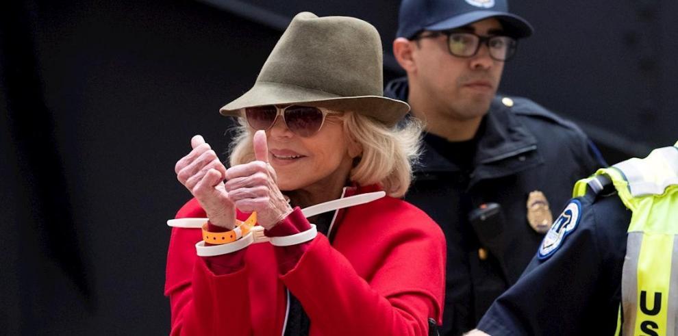 En la imagen, la actriz estadounidense Jane Fonda.