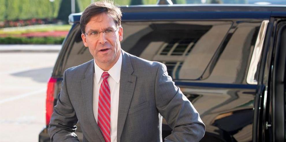 Mark Esper, el secretario de Defensa de EE.UU.