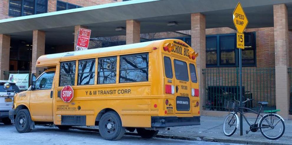 Escuela pública en Nueva York (EEUU).