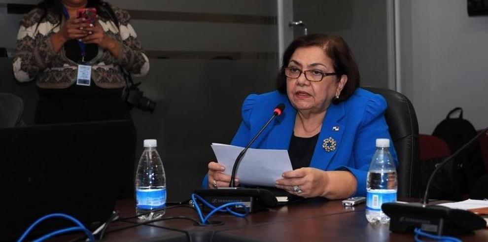 Enelda Medrano de González, viceministra de Economía del MEF