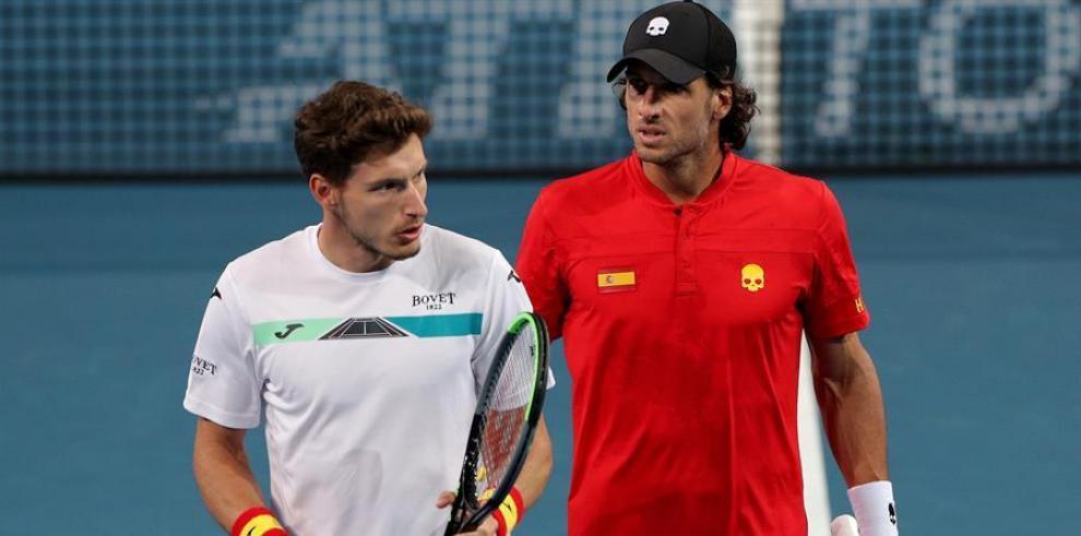 Las favoritas España y Serbia cumplen en su debut en la Copa ATP tenis