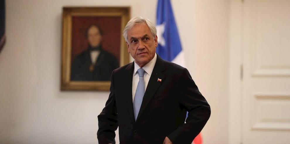 En la imagen, el presidente de Chile, Sebastián Piñera.