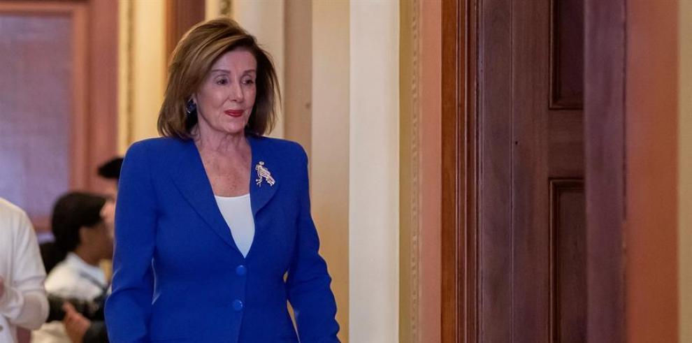 Nancy Pelosi, vocera de la Cámara de Represantes de EEUU.