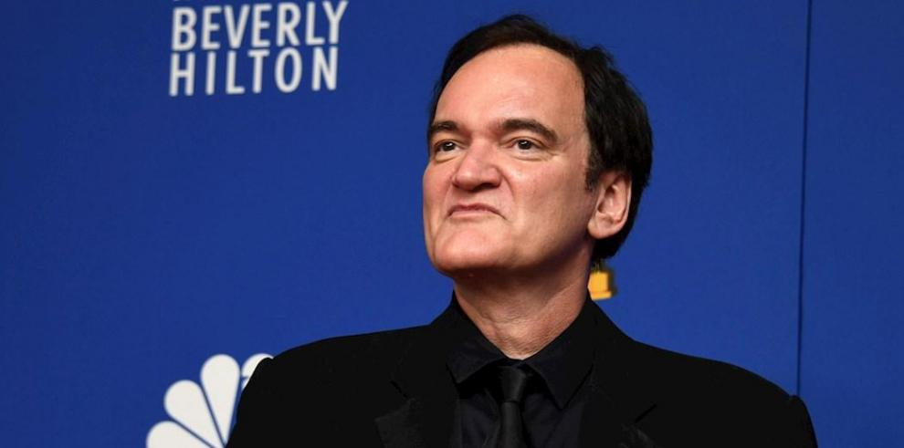 En la imagen el director Quentin Tarantino.