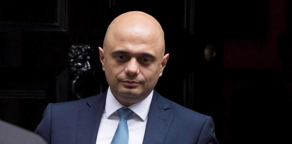 El ministro británico de Economía, Sajid Javid,