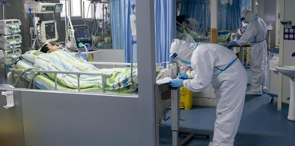Unidad de Cuidados Intensivos del Hospital Zhongnan de la Universidad de Wuhan