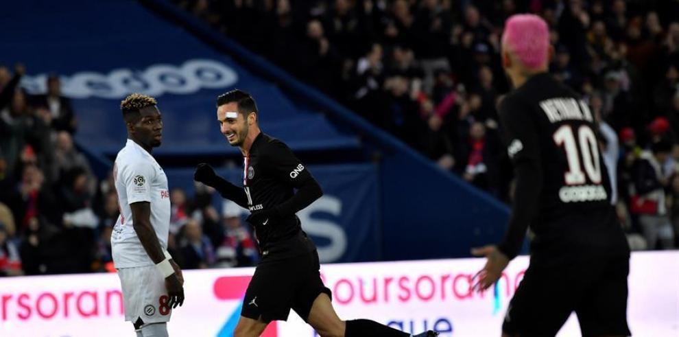 El París Saint Germain aprovechó los espacios que dejó su rival para ampliar su cosecha de goles.