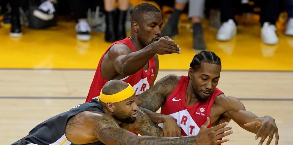 Los Raptors de Toronto reivindicaron su condición de actuales campeones de la NBA