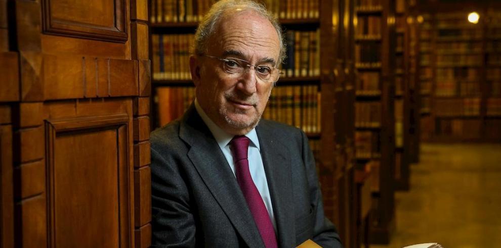 En la imagen, el director de la Real Academia Española (RAE), Santiago Muñoz Machado.a