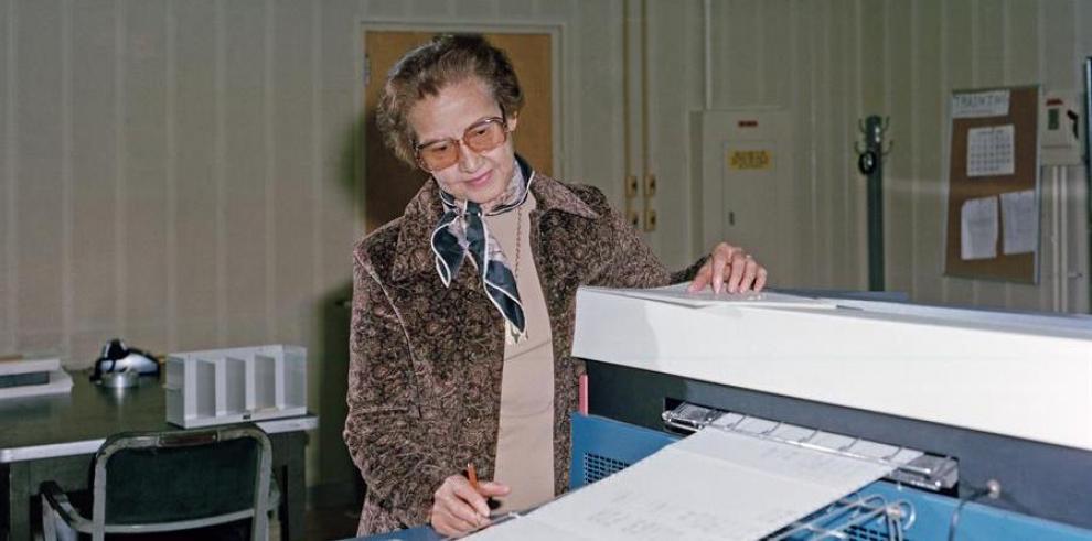 Katherine Johnson,matemática de la NASA