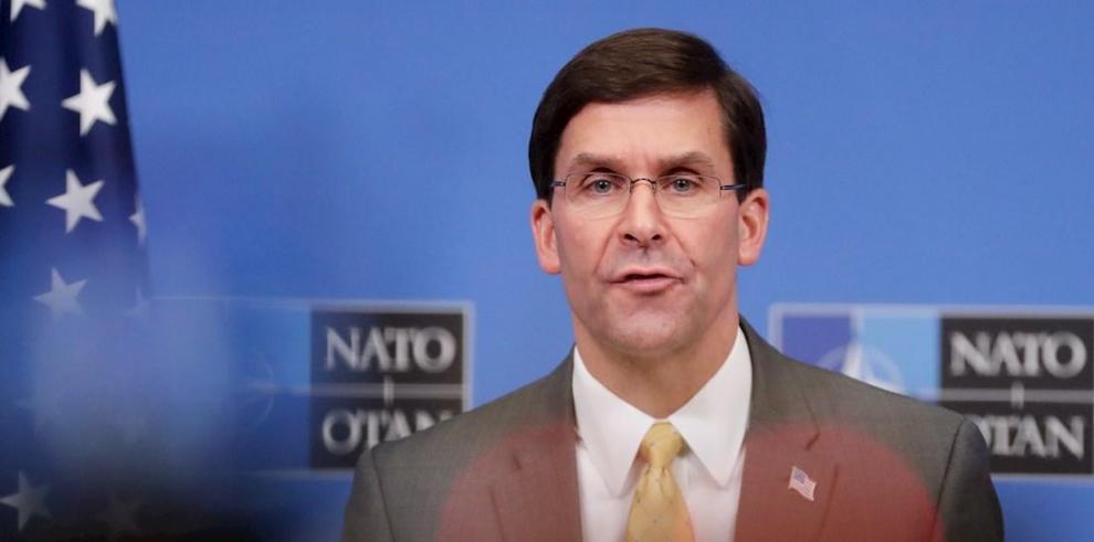 En la imagen el Secretario de Defensa de Estados Unidos, Mark Esper.