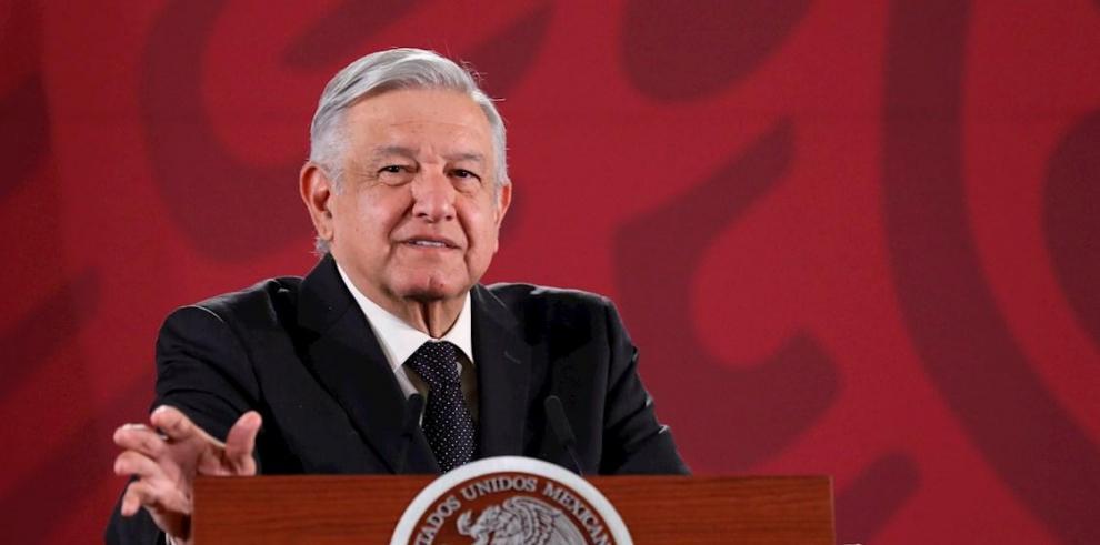 El presidente de México Andrés Manuel López Obrador