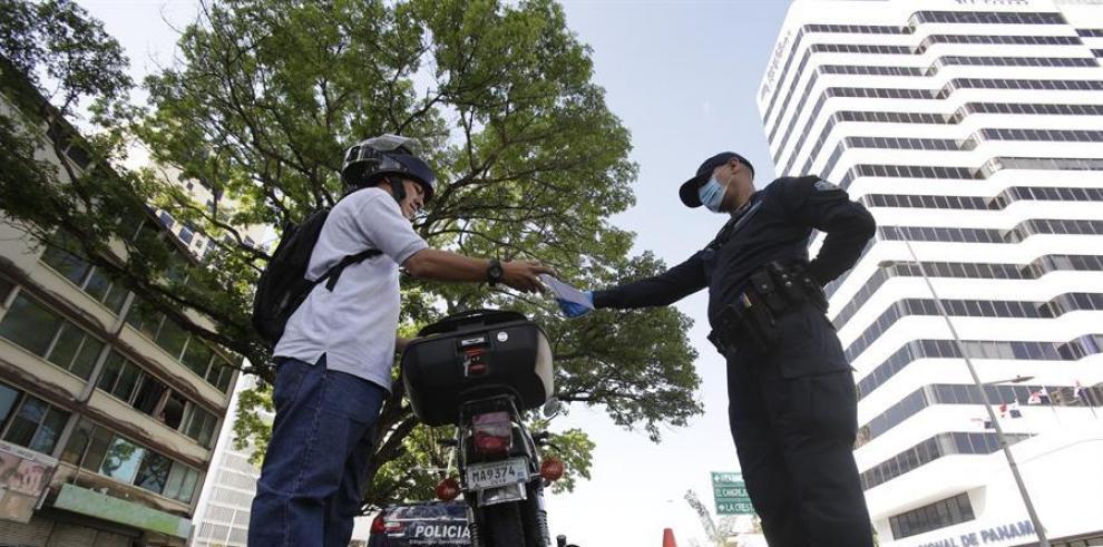 Policía de Panamá coronavirus