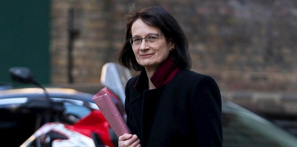 Jenny Harries, asesora médica adjunta del gobierno británico.