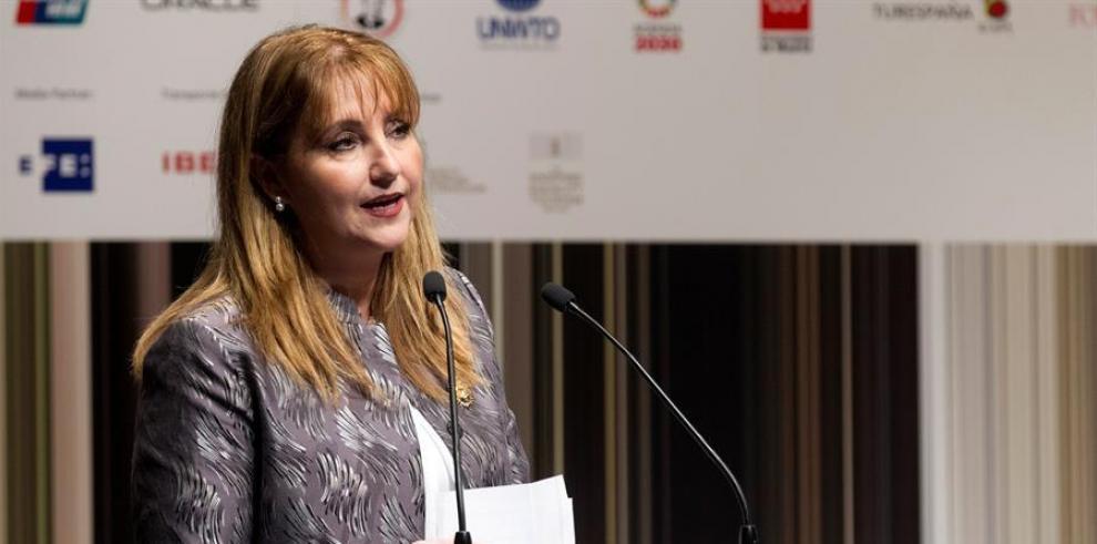 La presidenta y CEO de World Travel & Tourism Council (WTTC), Gloria Guevara.