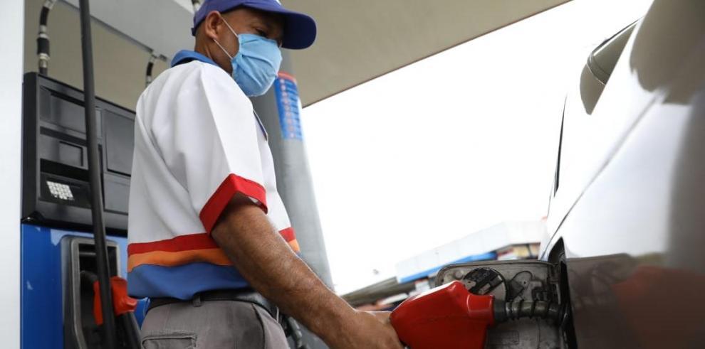 Combustible precio