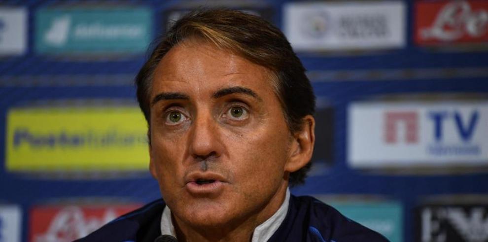 Roberto Mancini, seleccionador de Italia.