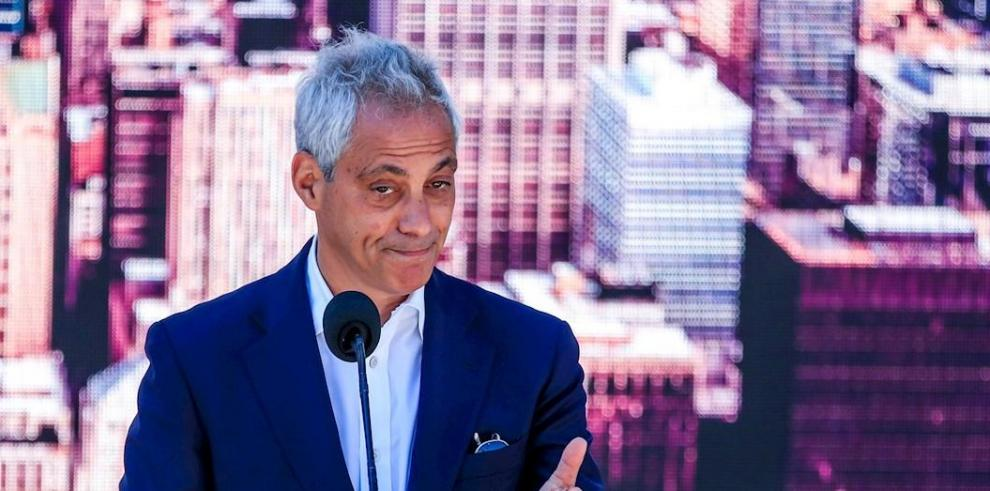 El alcalde de Chicago, Rahm Emanuel
