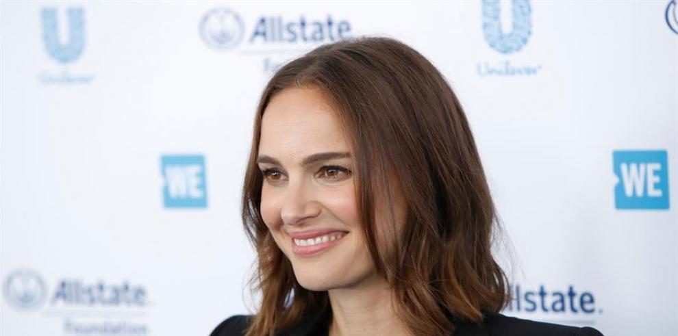 La actriz Natalie Portman.