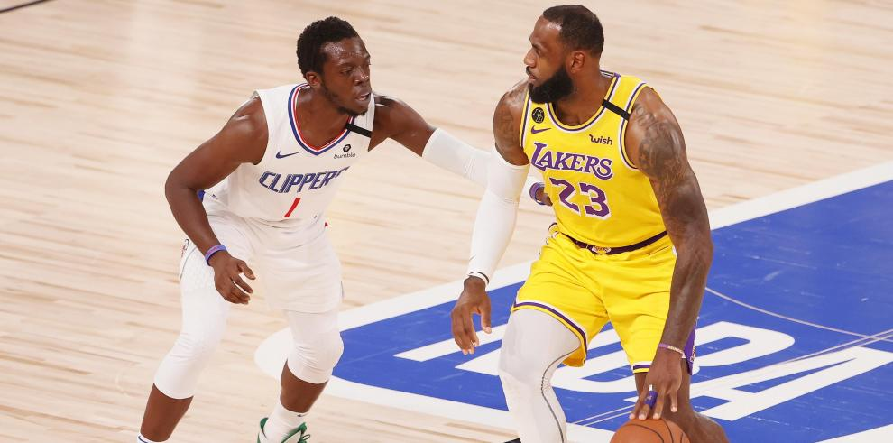Clippers vs los Lakers