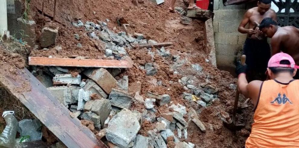 Inspeccionan 19 viviendas afectadas por mal tiempo en Cativá de Colón