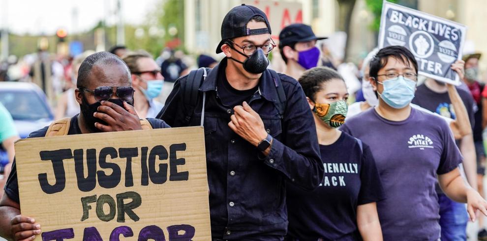 Protestas en Wisconsin