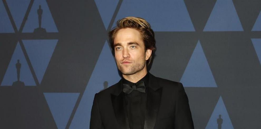El actor Robert Pattinson, protagonista de