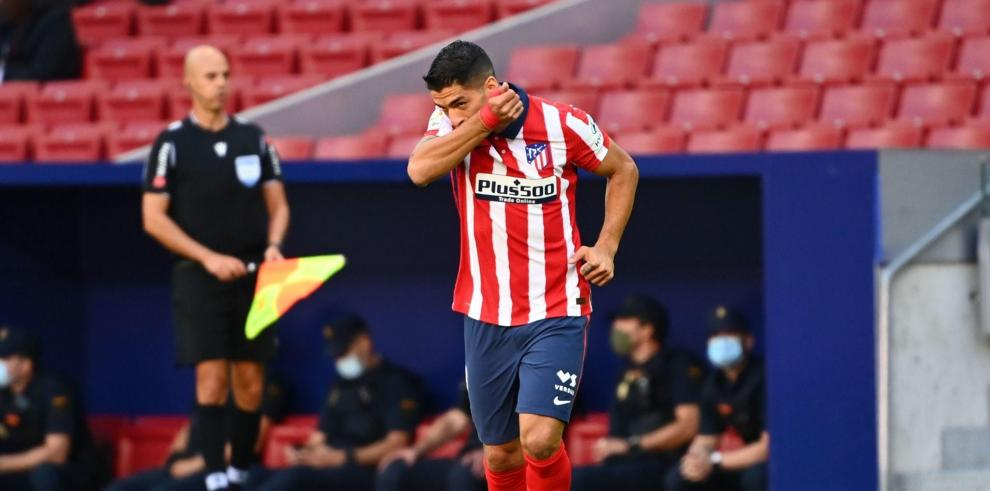 Luis Suárez, Atlético Madrid
