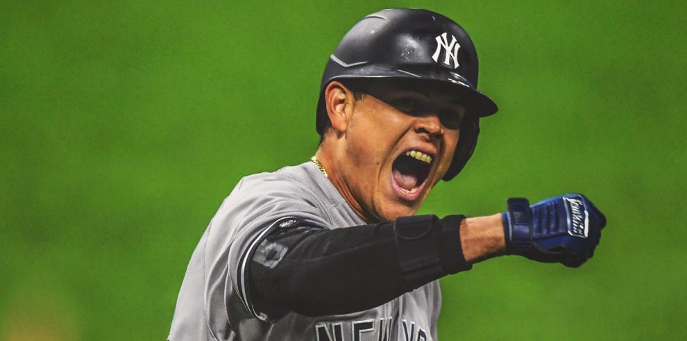 Gio Urshela de los Yankees de Nueva York