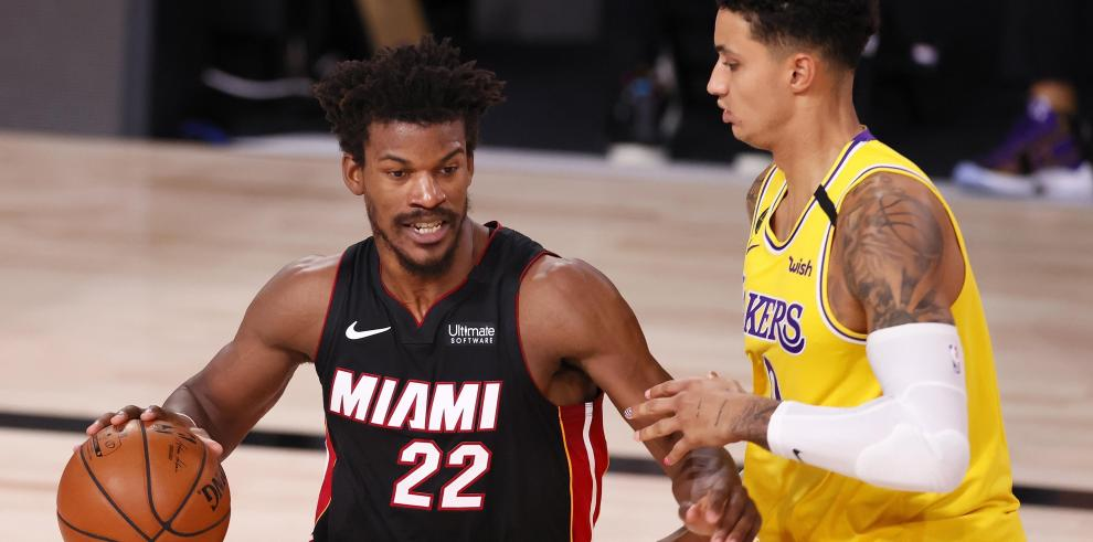 Los Heats y Los Ángeles Lakers