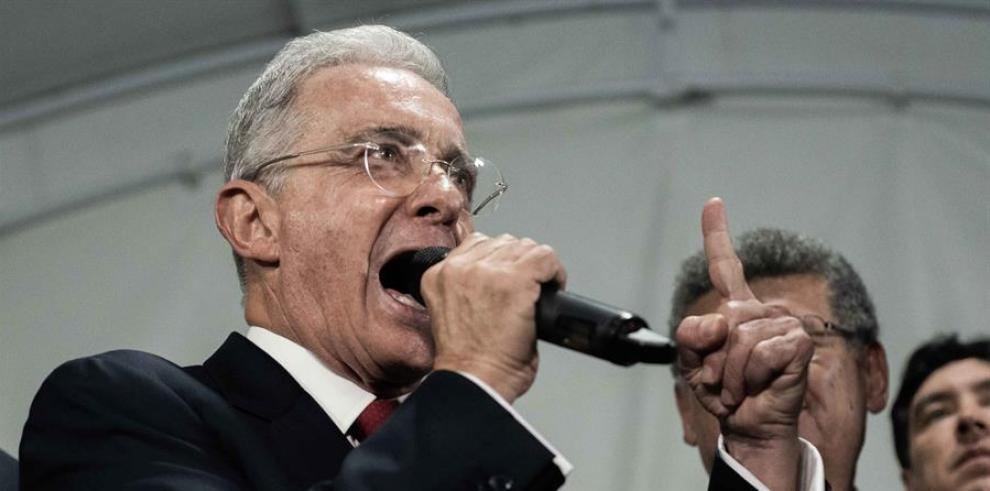 El expresidente Álvaro Uribe