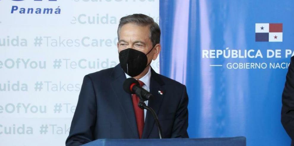 Laurentino Cortizo Cohen, presidente de Panamá.