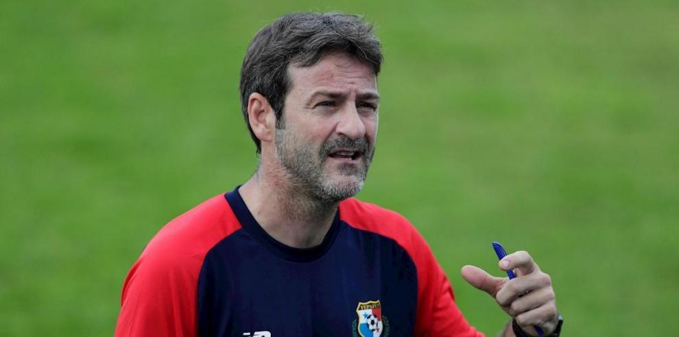 Thomas Christiansen, director técnico de la selección de fútbol de Panamá