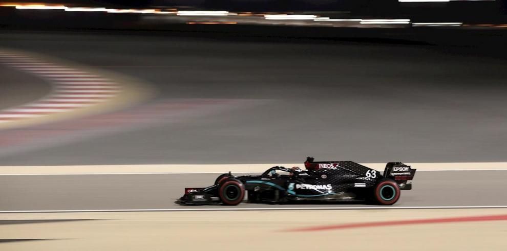 El inglés, George Russell, sustituyó a Lewis Hamilton en Mercedes.