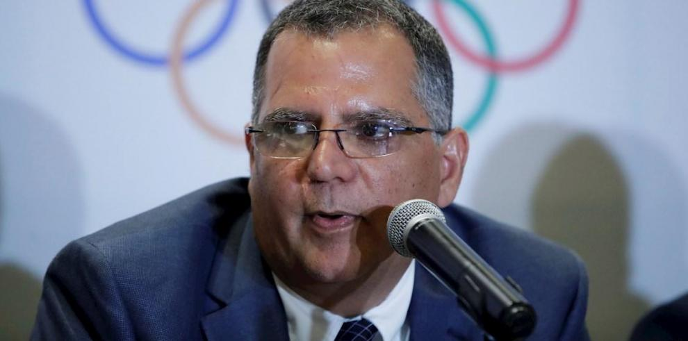 Camilo Amado, presidente actual del Comité Olímpico de Panamá