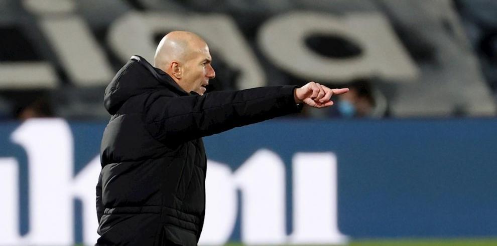 Zinedine Zidane, entrenador francés del Real Madrid