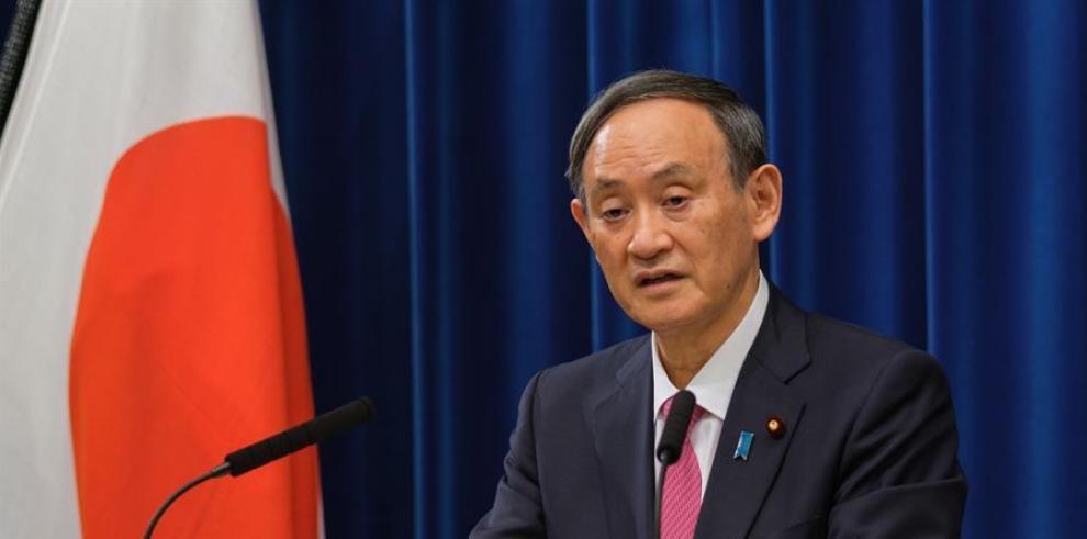 Suga reafirma que Tokio acogerá los JJOO pese al nuevo estado de emergencia