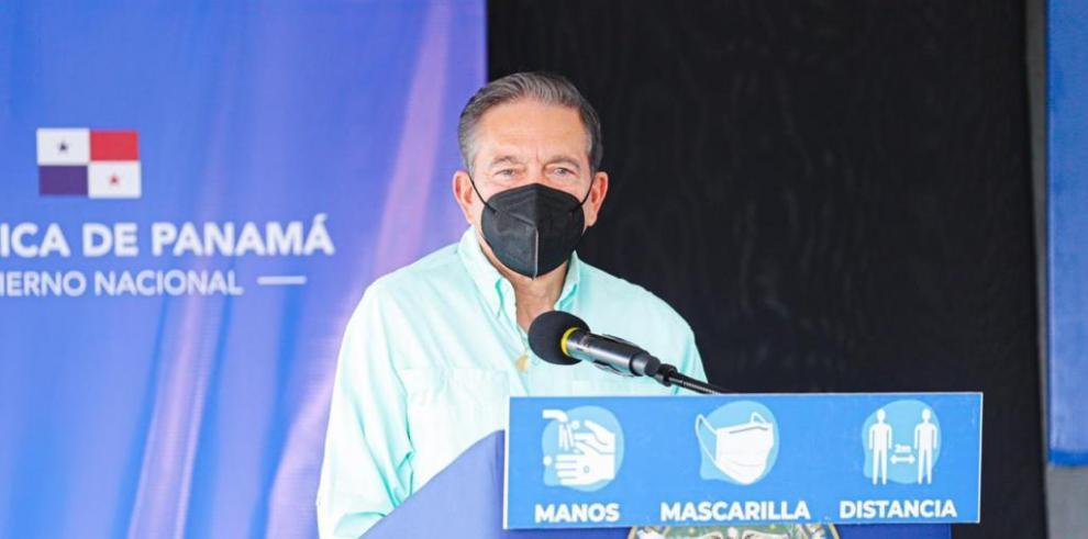 Presidente Cortizo explica uso de playas y ríos en cada provincia según medidas del Minsa