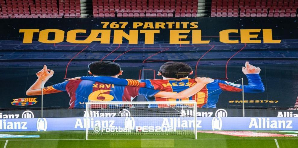 Leo Messi iguala a Xavi Hernández como el futbolista del Barcelona con más partidos oficiales