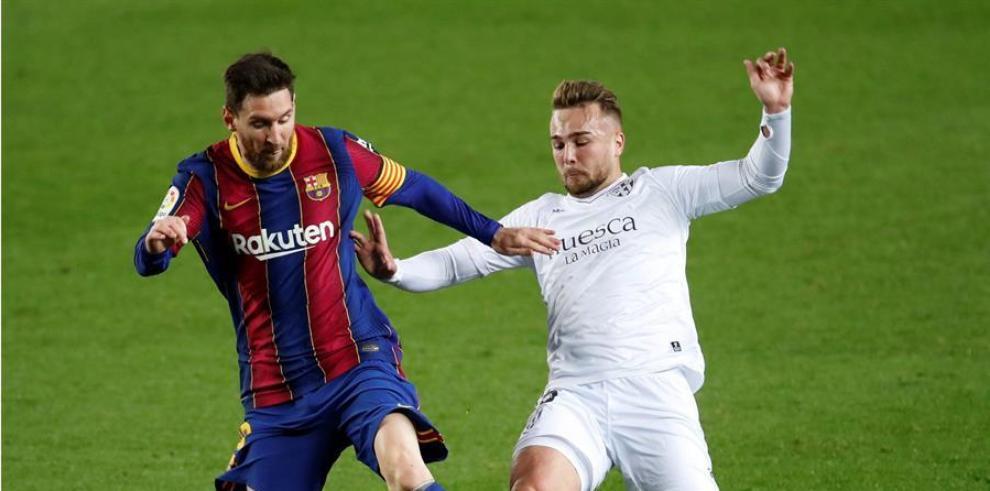 Barcelona derrotó a Huesca