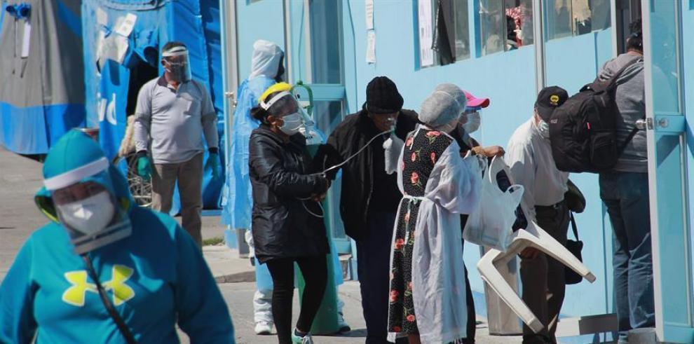 Doce muertos en un hospital del norte peruano que quedó desabastecido de oxígeno