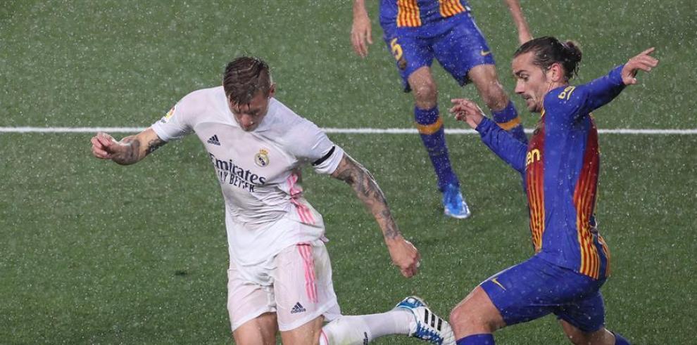 El Real Madrid se llevó el clásico