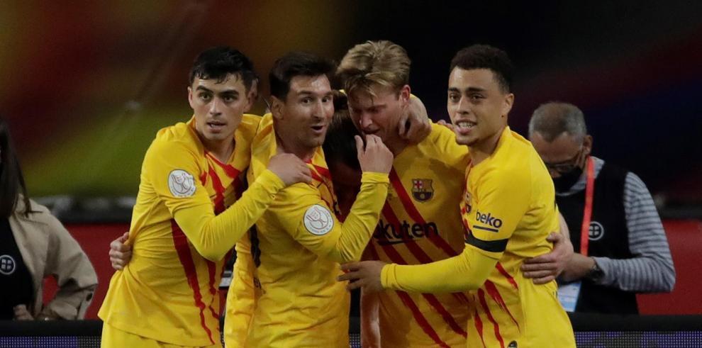 }El Barcelona gana con solvencia y brillantez su título número 31 de Copa